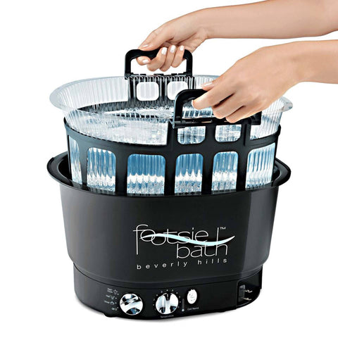 Pibbs Footsie Footbath with Basket and 10 Liners