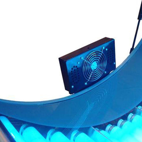 Solar Storm MP3 Player & Speakers with Body Fan
