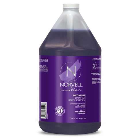Norvell Optimum (Venetian) Tanning Booth Solution 128 oz Gallon Jug