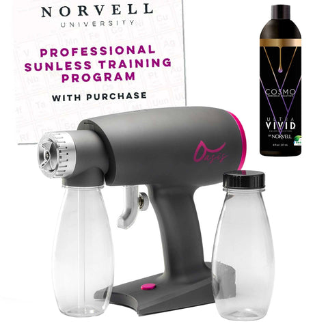 Norvell Oasis Airbrush Spray Gun with Solution and Training