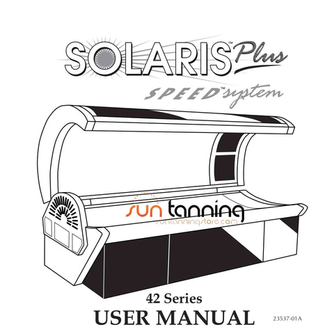 Solaris 42 Series Tanning Bed - Replacement Tanning Lamp Kit