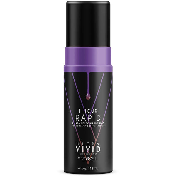 Norvell 1 Hour Rapid Self Tanning Mousse 4 Oz New Product