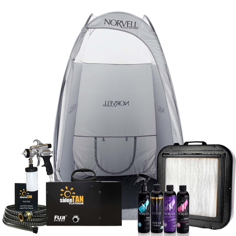 Fuji 2150 salonTAN PLATINUM M-Model Ultra Quiet Start-Up Kit