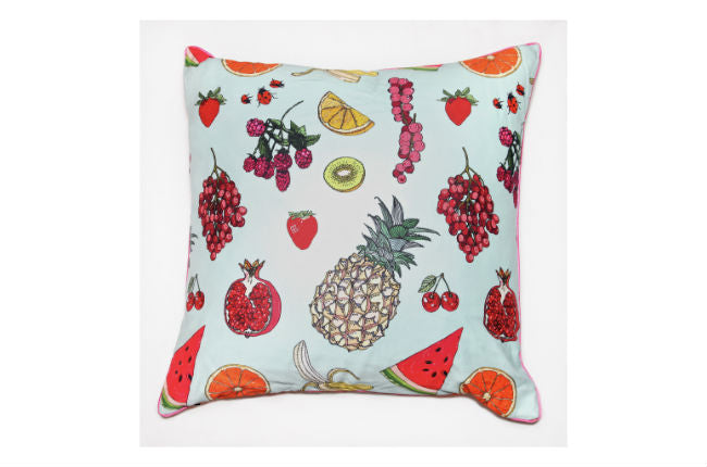 Silken Favours cushion