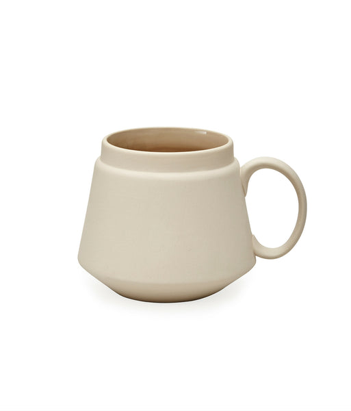 Ceramic Terracotta Peyote Grey Mug