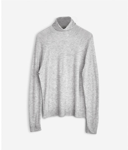 Cash Air Roller Jumper Light Grey Melange