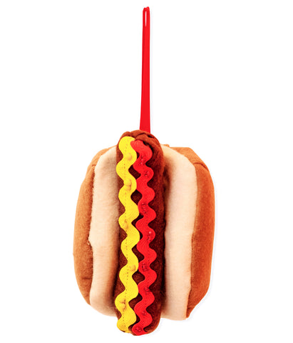 Hot Dog Felt Christmas Decoration