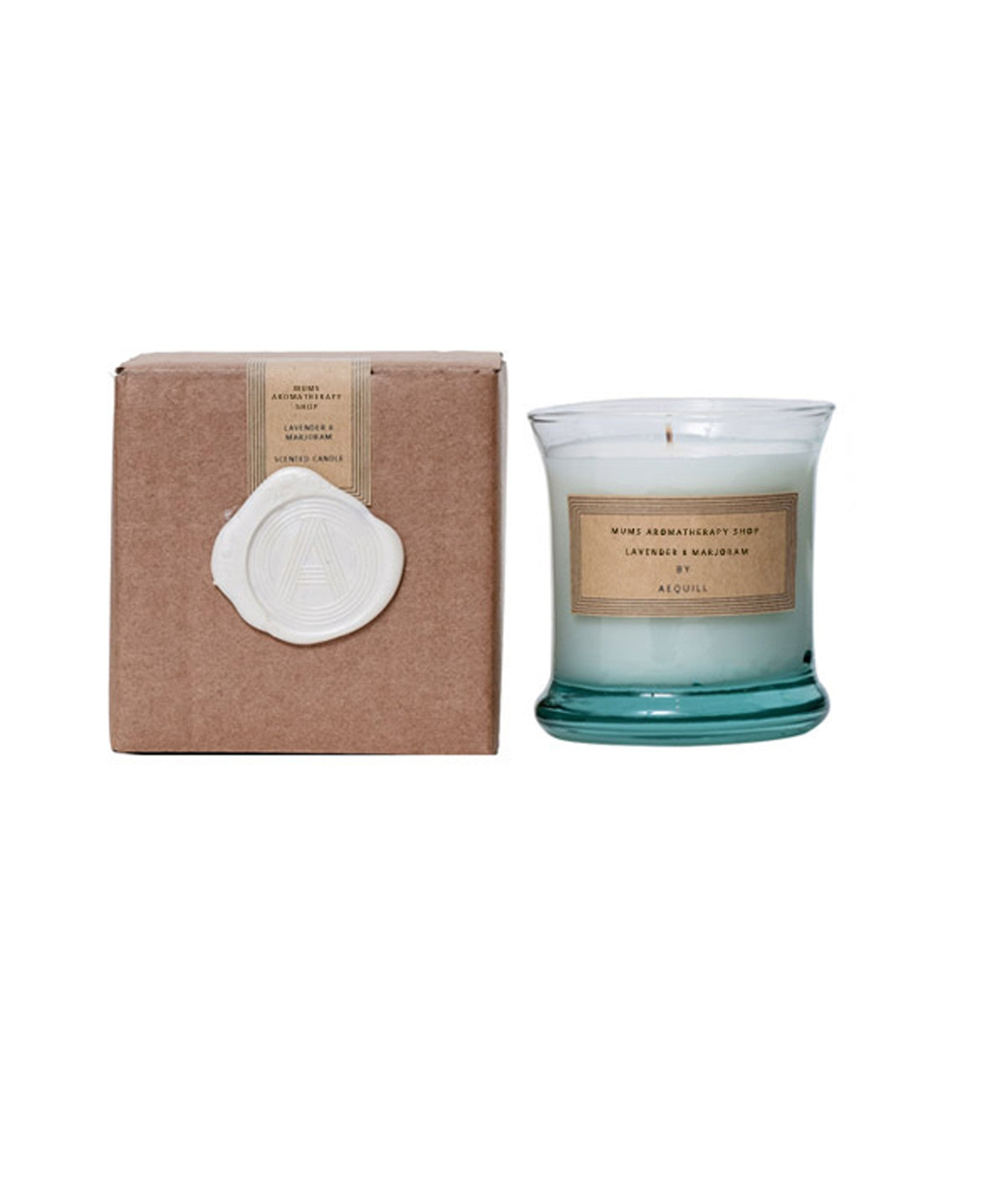 Essential Oil Aromatherapy Lavender & Marjoram Candle, 'The Soothing'