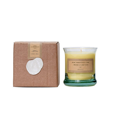Essential Oil Aromatherapy Orange & Ylang Ylang Candle, 'The Blissful'