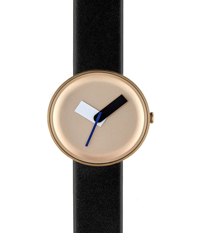 Gold Moltair Organic Leather Watch