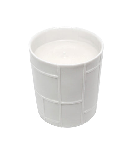 Citrus Scented Vegetable Wax Candle 'Mondrian'