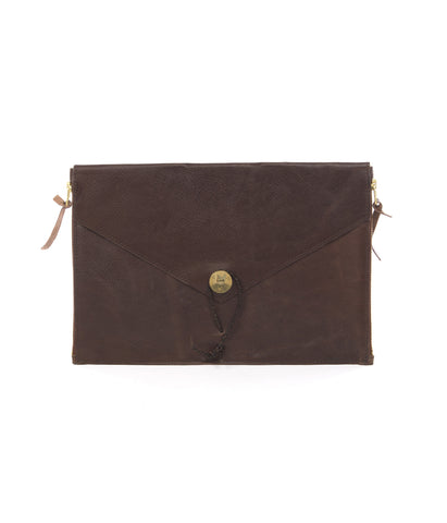 "P.A.P Leather Laptop Cover 11"" Brown"