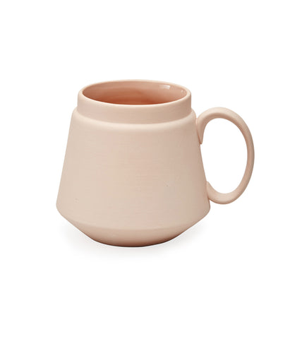 Ceramic Terracotta Salmon Pink Mug