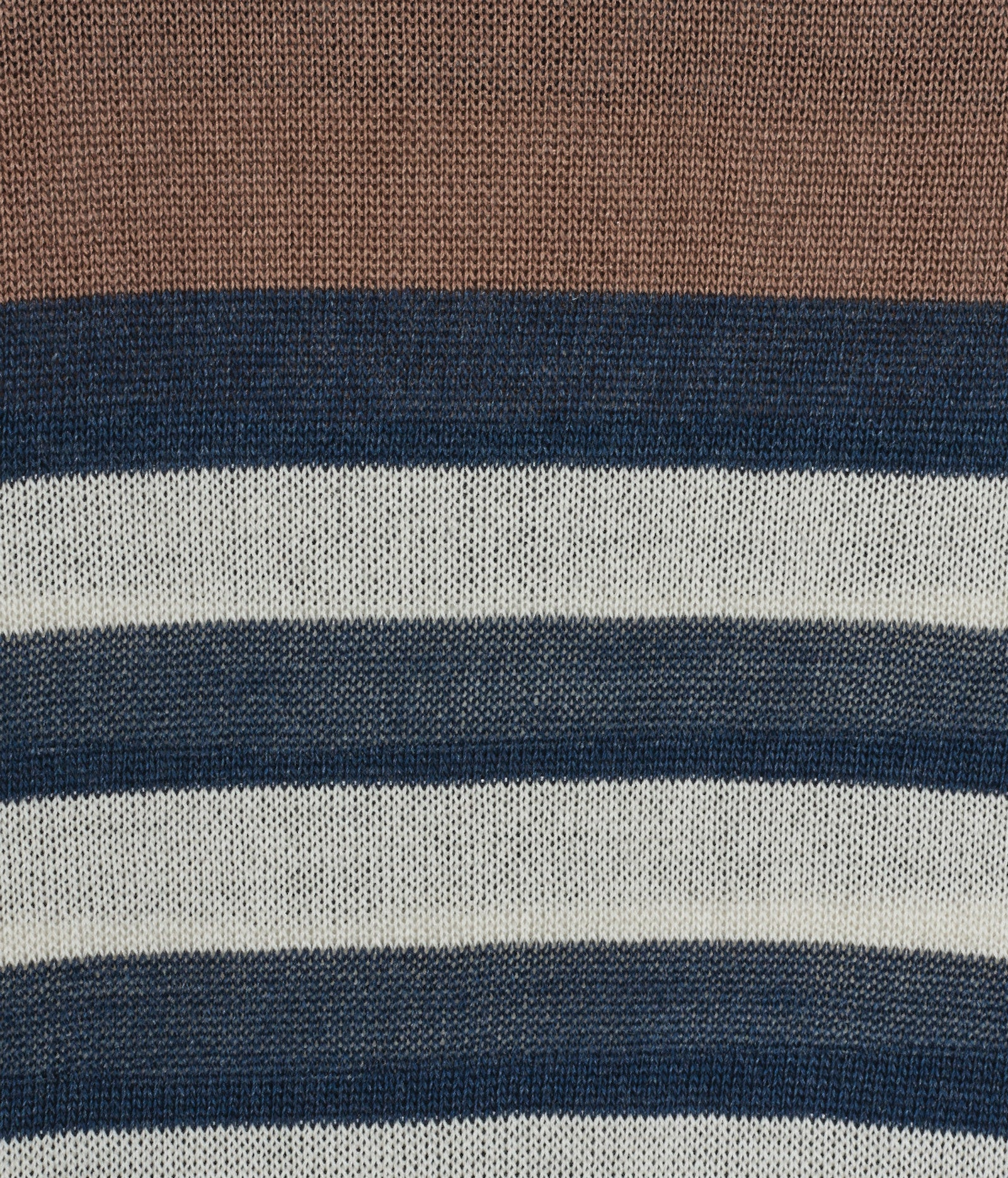 Colour Block Stripe Silk Jumper