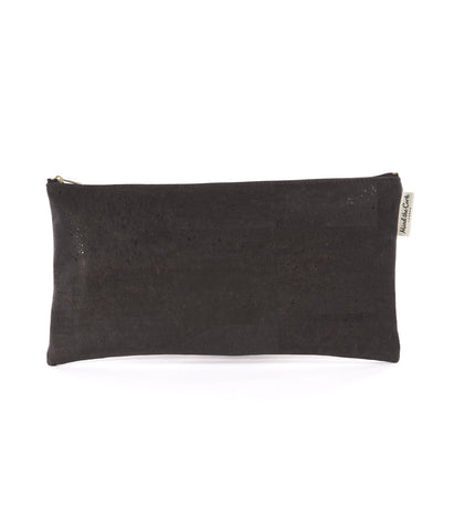 Large Black Clutch