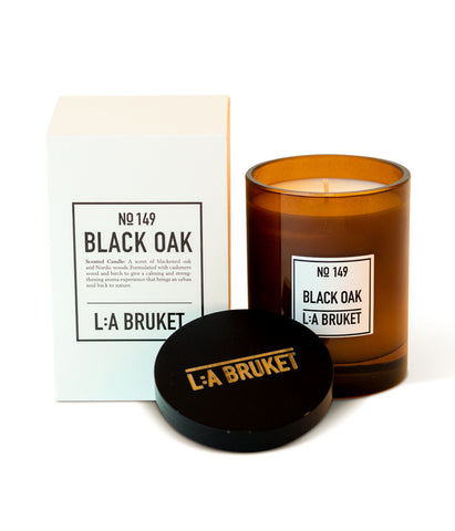 149 Large Scented Black Oak Soy Wax Candle