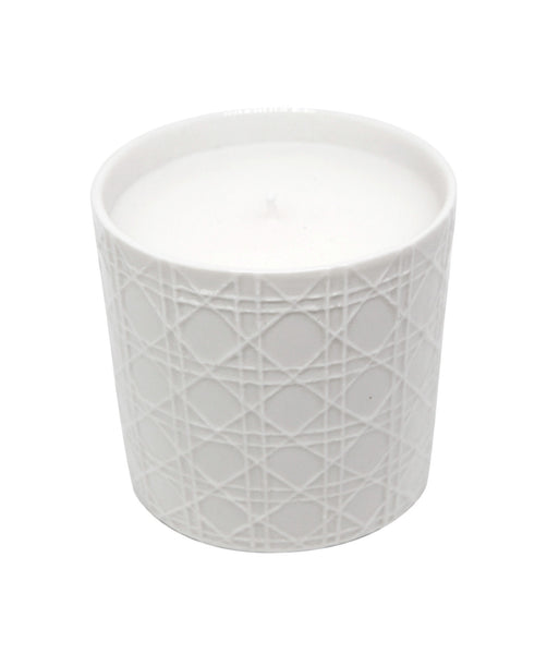 Cedarwood, Leather & Musk Vegetable Wax Candle 'Cannage'