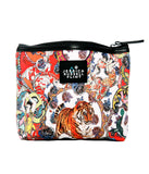 Crazee Circus Leather Washbag