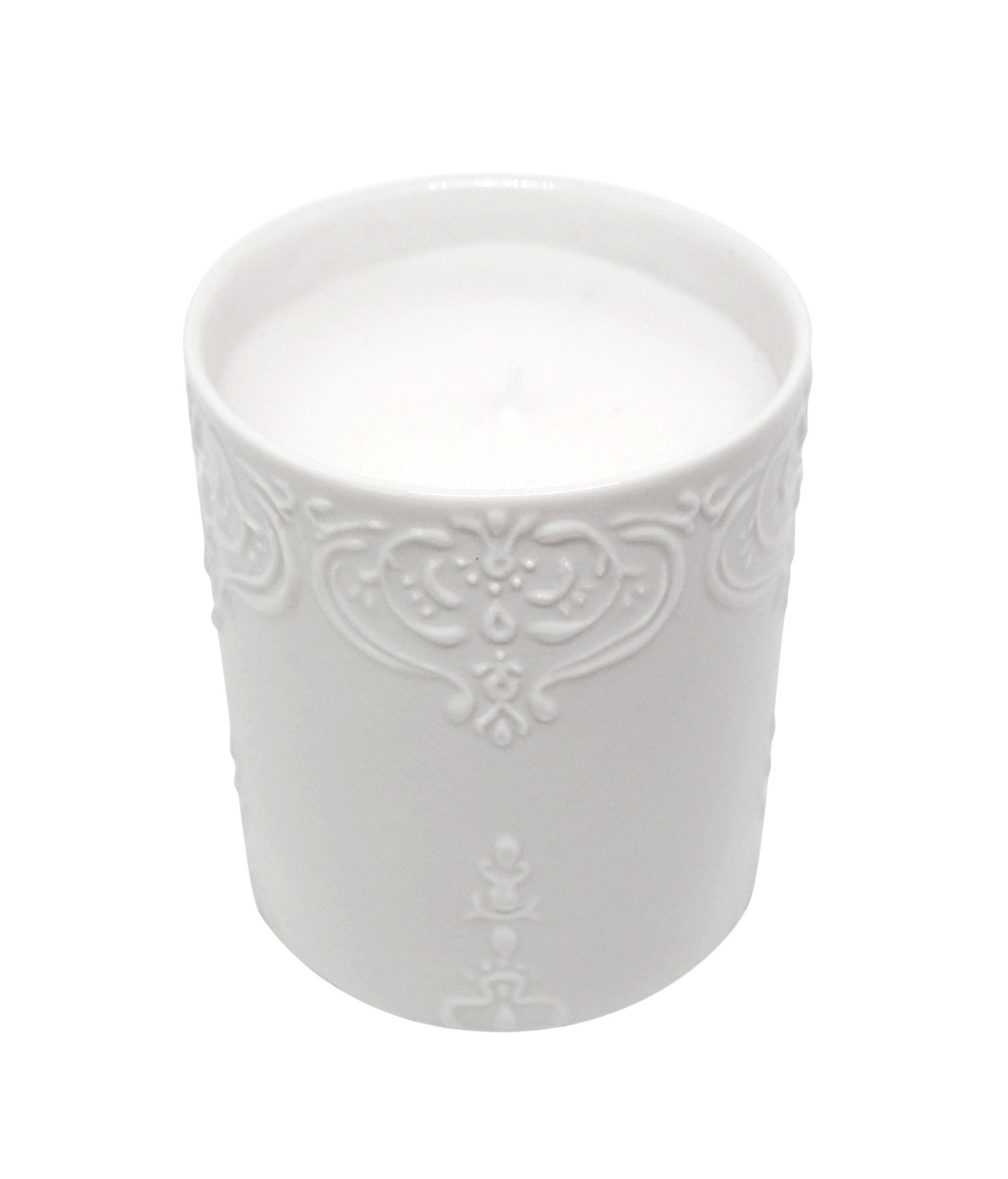 Citrus & Fig Scented Vegetable Wax Candle