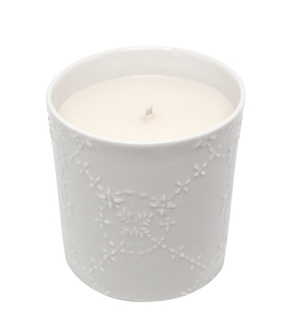 Neroli, Jasmine & Musk Scented Vegetable Wax Candle 'Happiness'
