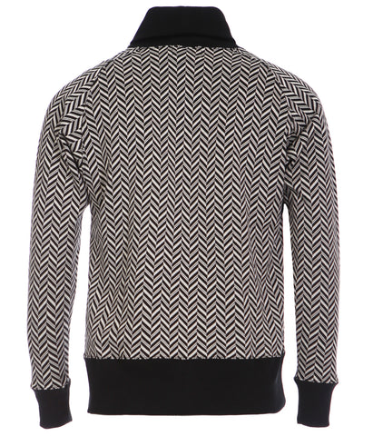 Men's Herringbone Jumper