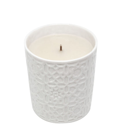 Ispahan Scented Candle in Porcelain holder