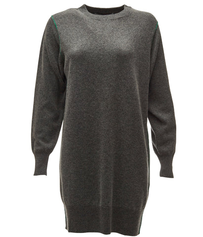 Jumper Dress Green Seam