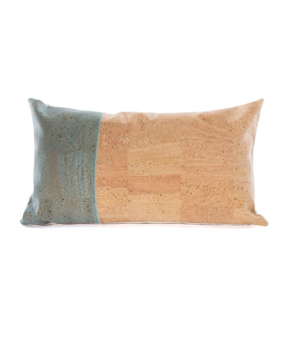 Rio Cork & Cotton Rectangular Cushion 50x30cm
