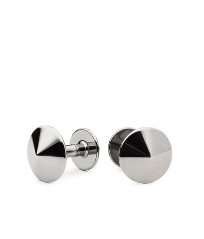 Thomas Rhodium Cufflinks