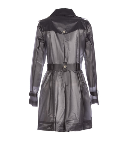 Tribeca Ash Black Raincoat