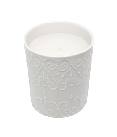 Incense and Vanilla Scented Vegetable Wax Candle 'Tuileries'