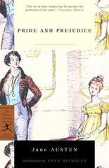 Pride and Prejudice book cover