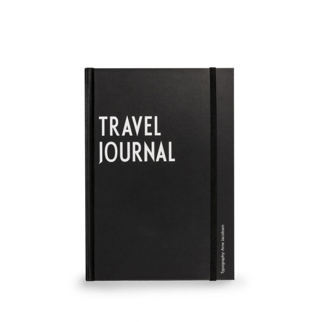 Travel Journal Notebook by Designletters