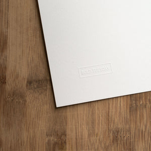 California State Art Print - Embossed Logo Paper
