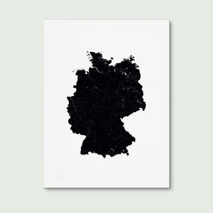 Germany Art Print 30x40cm