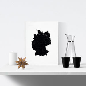 Germany Art Print - Scandinavian Minimal Interior