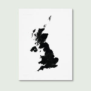 UK Art Print 30x40cm