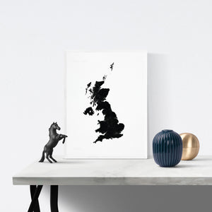 UK Art Print - Scandinavian Minimal Interior