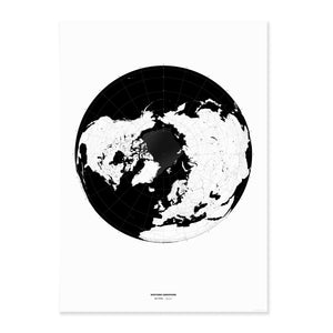 """Polar Maps"" - Set of 2"