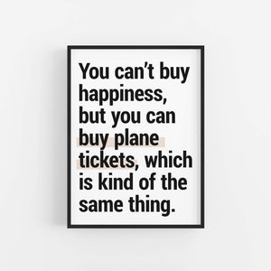"""Kind Of The Same Thing""  - Printable Travel Quote"