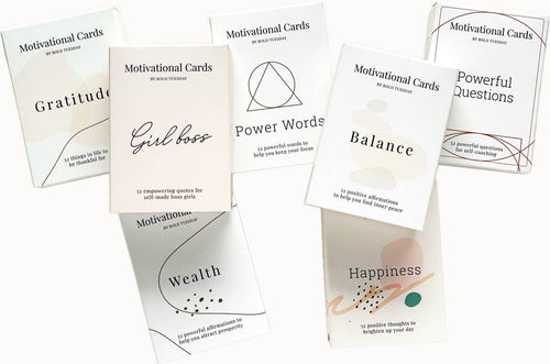 Therapy cards for coaching
