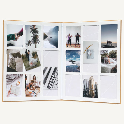 Vision board kit with photos by Bold Tuesday