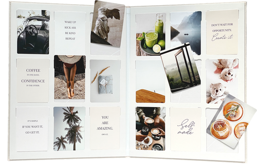 Vision Board Reimagined with photos by Bold Tuesday