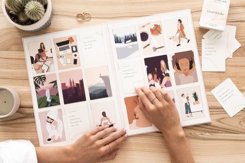 Vision board kit with illustrations by Bold Tuesday