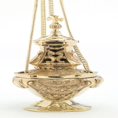 Ornate large Thurible