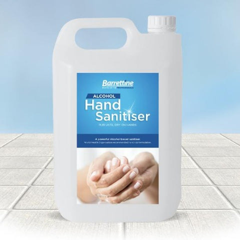 HAND SANITISER 70% ALCOHOL (5L)