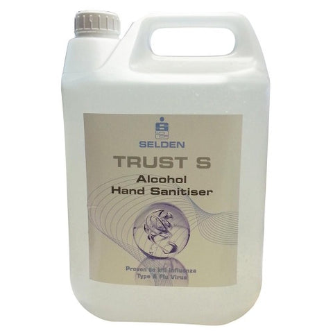Trust S Alcohol Gel Hand Sanitiser (2 x 5L)