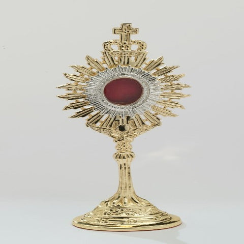 Gold plated Reliquary