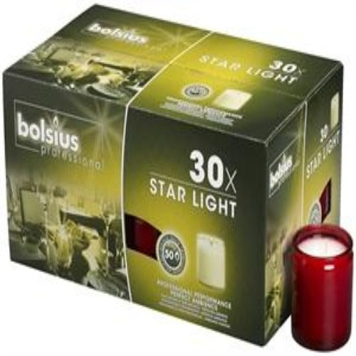Starlight 50hr burn candles (30)