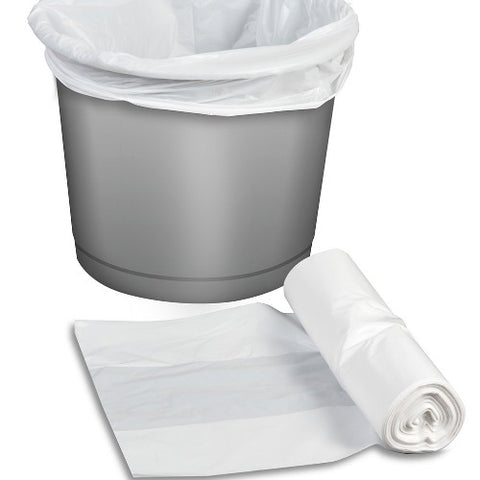 Pedal Bin Liner on Roll White